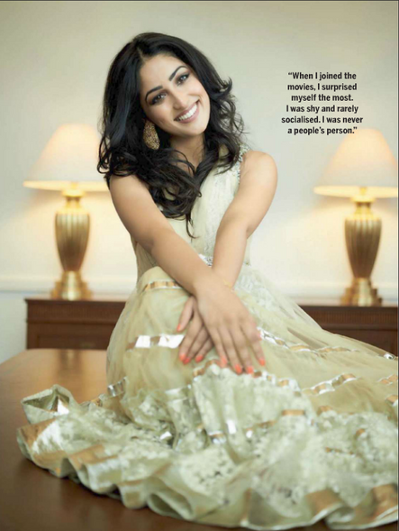Yami Gautam Femina inside spread November 2012